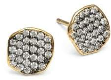 Tai Pave Stud Earrings