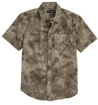 Treasure & Bond Tie Dye Poplin Shirt