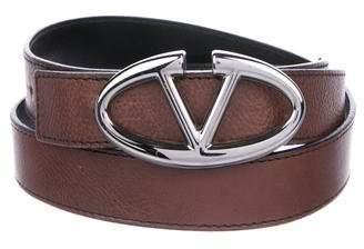 Valentino Reversible Logo Belt