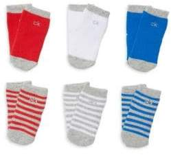 Calvin Klein Baby's Set of Six Socks