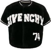 Givenchy logo短款夹克