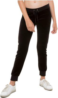 Juicy Couture Velour Zuma Pant With Pockets