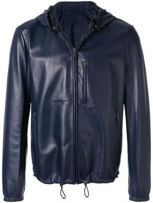 Prada reversible hooded jacket
