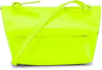 Acne Studios Mini Bag in Fluo Yellow | FWRD