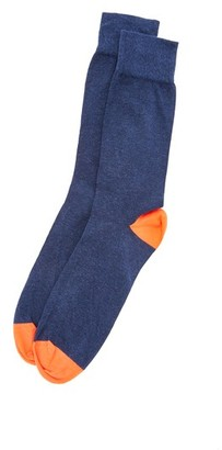 Corgi Heel & Toe Contrast Socks $24 thestylecure.com