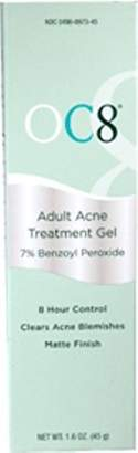OC Eight Adult Acne Treatment Gel 1.6 oz.