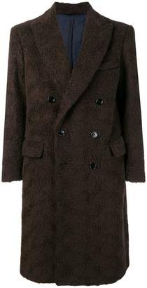 Piombo Mp Massimo double-breasted coat