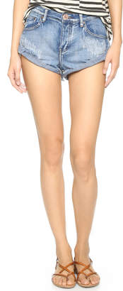 One Teaspoon Bandit Shorts $99 thestylecure.com