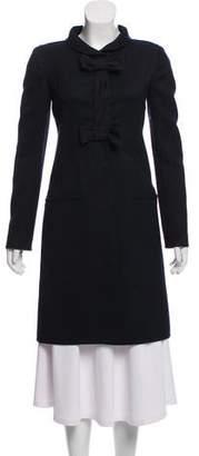 Valentino Wool Button Up Jacket
