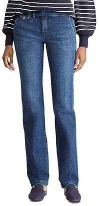 Ralph Lauren Trouser Straight Jeans in Blue Star