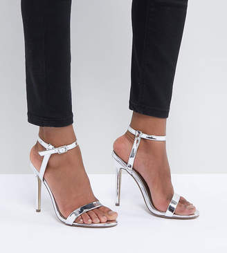 Missguided Barely There Heeled Sandals