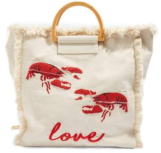 Topshop Bobby Lobster Love Canvas Shopper