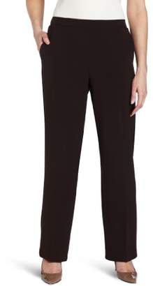 Briggs New York Women's Flat-Front Pant
