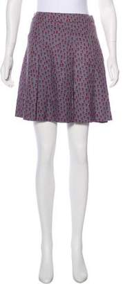 Marc by Marc Jacobs Floral Print Mini Skirt