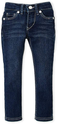 Levi's Toddler Girls) Dark Wash 711 Skinny Jeans