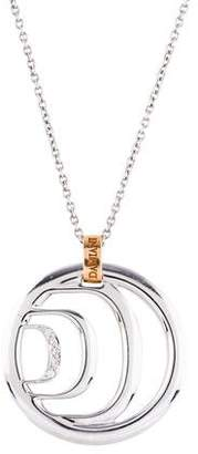 Damiani 18K Diamond Pendant Necklace