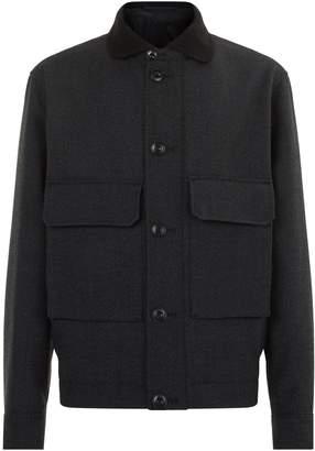 Lemaire Wool Blouson Jacket