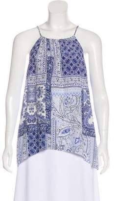 Joie Printed Sleeveless Amite Top w/ Tags