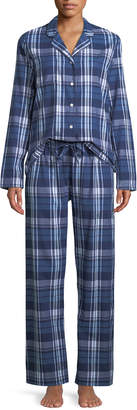 Derek Rose Ranga Plaid Classic Pajama Set