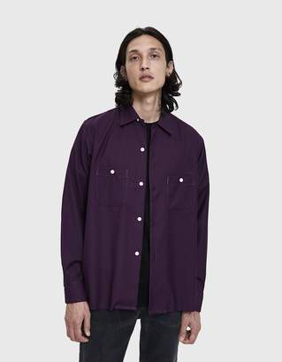 Needles Raw Hem One-Up Shirt
