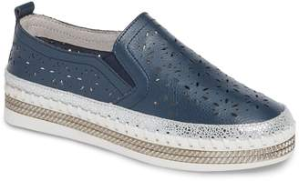 Bernie Mev. Perforated Slip-On Sneaker
