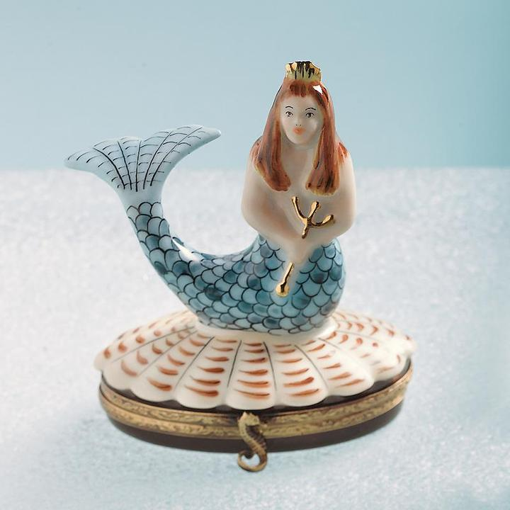 Mermaid Limoges Box