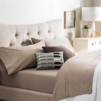 Brookside Cotton Blend Sheet Set Rich Feel Polyester Finish