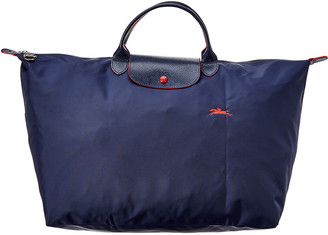 Longchamp Le Pliage Club Large Nylon Travel Tote