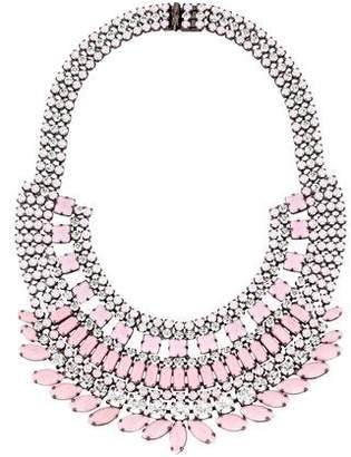 Tom Binns Neopolitano Crystal Collar Necklace