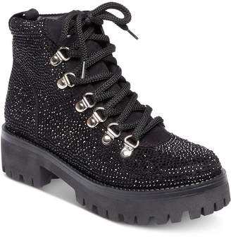 Steve Madden Women Bam Hiker Booties