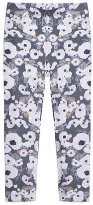 Imoga Floral-Print Stretch Leggings, Size 2-6