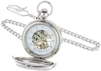 Charles Hubert 3847 Mechanical Picture Frame Pocket Watch