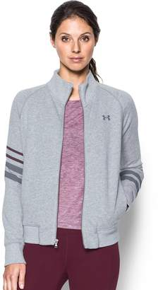 Under Armour Women's French Terry Zip-Up Jacket