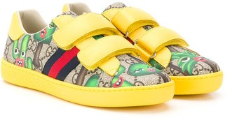 Gucci Kids GG Smiling Plants sneakers