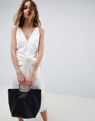 Asos sleeveless utility dress