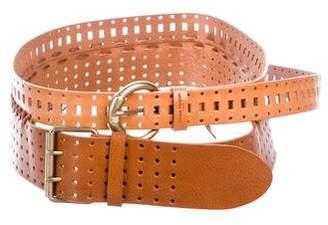 Maison Margiela Perforated Double Wrap Belt