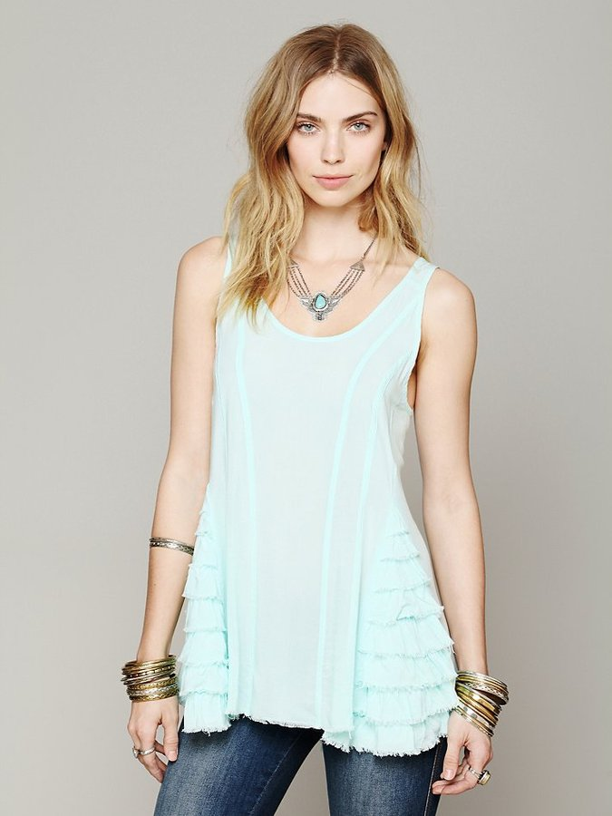 Free People Ruffled Up Cami