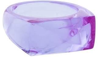 Baccarat Louxor Crystal Ring