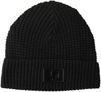 Fred Perry Unisex-Adult's Waffle Knit Beanie