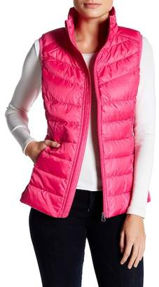 Be Stand Collar Down Vest $39.97 thestylecure.com