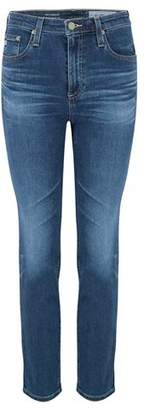 AG Jeans Isabelle Straight Leg Jean in 10 Years Cambria
