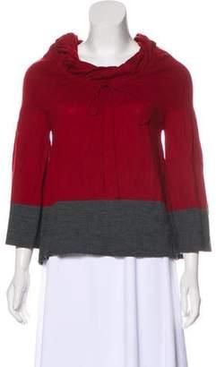 Philosophy di Alberta Ferretti Virgin Wool Knit Sweater