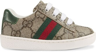 Gucci Kids Toddler GG Supreme low-top sneakers with Web