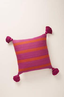 Anthropologie Striped Wilda Pillow