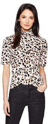 Jones New York Women's Fitted Elbow SLV Body with Easy Turtle Nk