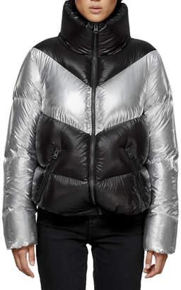 Mackage Jess Colorblock Puffer Jacket