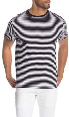 Calvin Klein Short Sleeve Crew Neck Striped Shirt