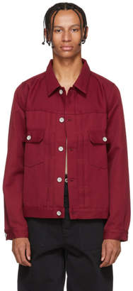 Visvim Burgundy 101 Park Ranger Jacket
