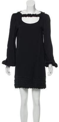 Giamba Long Sleeve Mini Dress