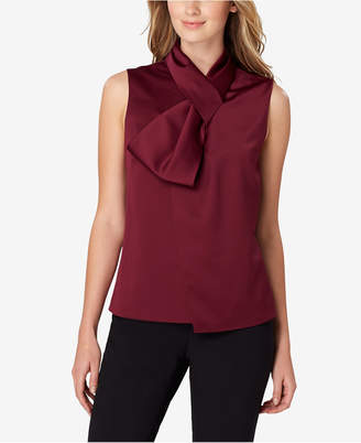Tahari ASL Bow Top